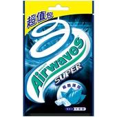 《Airwaves》Super極酷嗆涼薄荷-重量包(62公克/袋)