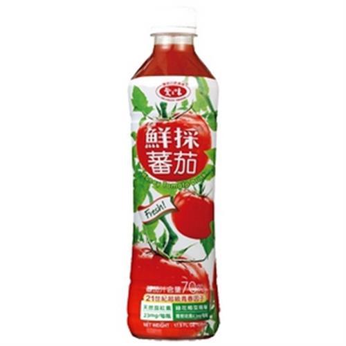 愛之味 鮮採蕃茄汁SFN升級配方(540公克(530毫升)x4瓶/組)