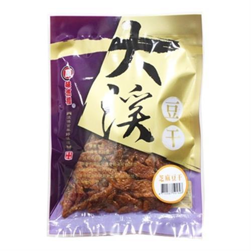 原味巡禮 大溪豆干-芝麻豆干(160g/包)
