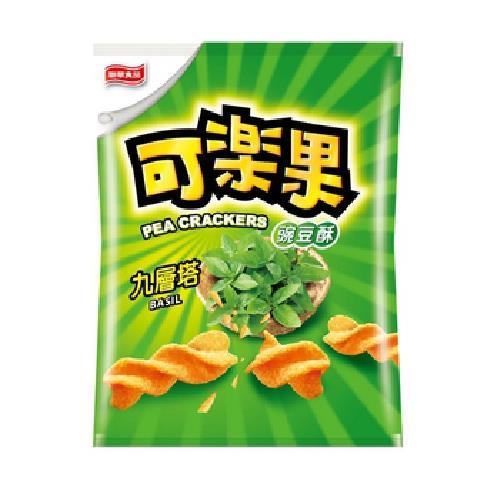聯華 可樂果試嚼系九層塔口味(140g/包)