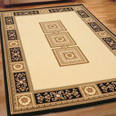 《Ambience》Everest 百萬針高密度地毯-米色(160x230cm)