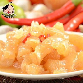 大嬸婆 輕食開胃菜-QQ豬腳筋(200g)