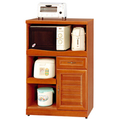 《Homelike》樟木2.7尺廚房收納櫃
