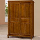 《Homelike》亞倫5x7尺實木衣櫥
