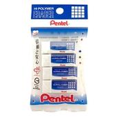 《PENTEL》標準型橡皮擦(PZEH05-4入)