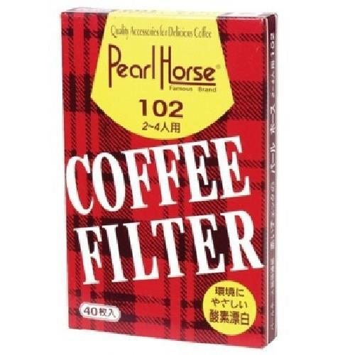Pearl Horse 咖啡濾紙2-4人份(40張/包)