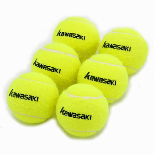 《kawasaki》網球袋裝(6入/袋)