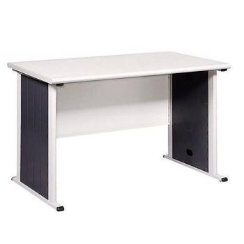 《時尚屋》辦公桌灰/黑(120cm)