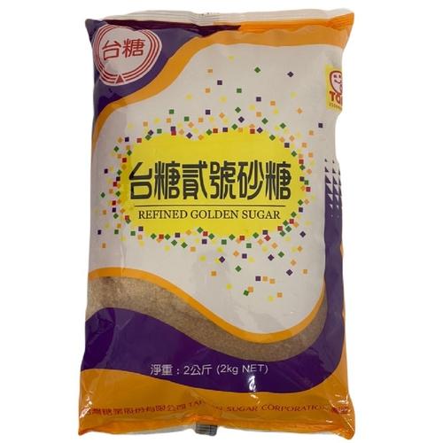 台糖 貳號砂糖(2kg/包)