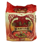 《統一》滿漢大餐麻辣鍋牛肉麵(200gx3包/組)