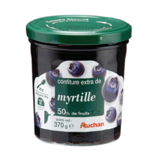 Auchan 藍莓果醬(370g/罐)