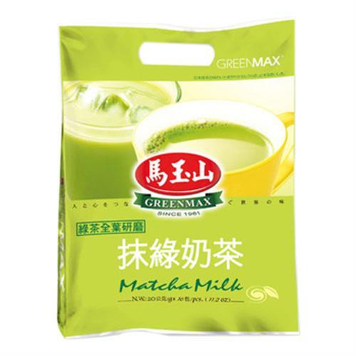 馬玉山 抹綠奶茶(20gx16包/袋)