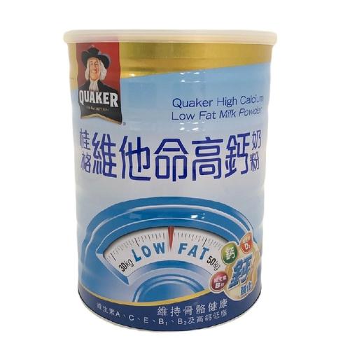 桂格 高鈣維他命低脂奶粉(825g/罐)