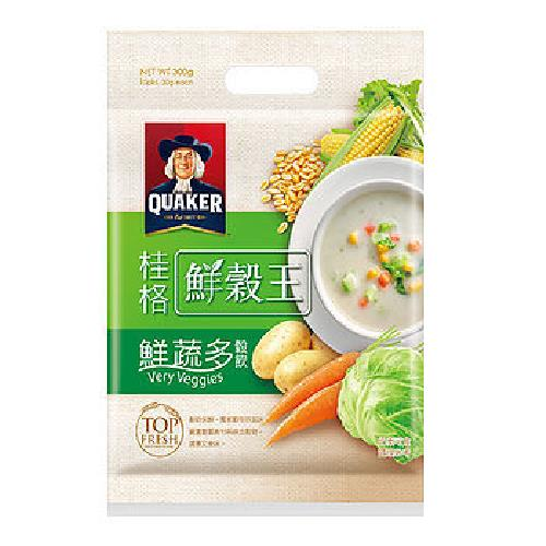 桂格 鮮榖王-五種健康蔬果(30g*10包/袋)