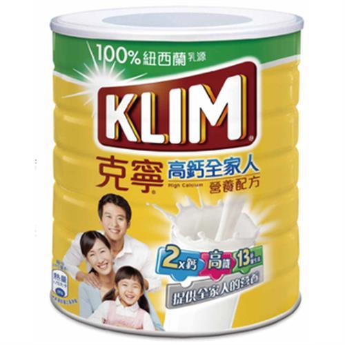 克寧 高鈣全家人奶粉(2.3kg/罐)