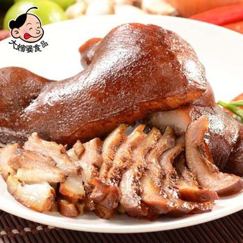 大嬸婆 蔬果老滷-豬頭皮(200g)