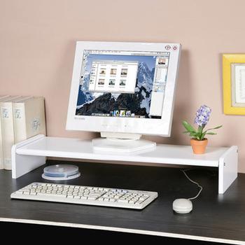 ★結帳現折★Homelike 伸縮式桌上型置物架(純白色)