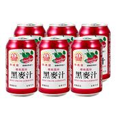 《崇德發》櫻桃黑麥汁(330ml*6罐/組)