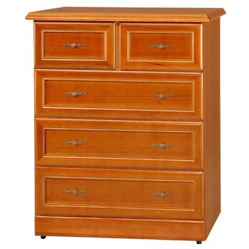 《Homelike》樟木3.3尺大收納四斗櫃