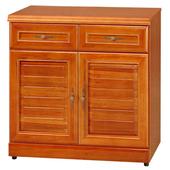 《Homelike》樟木2.7尺衣物收納櫃