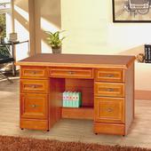 《Homelike》樟木4.5尺附抽書桌