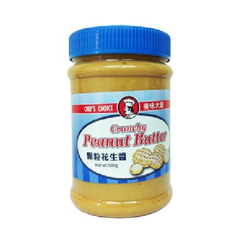 美味大師 顆粒花生醬(500g/罐)