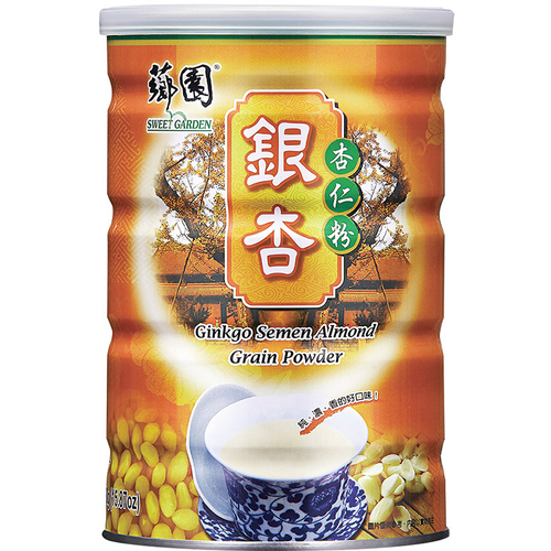 薌園 銀杏杏仁粉(450g/罐)