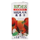 《囍瑞》BIOES100%純天然蘋果汁(1000ml/包)