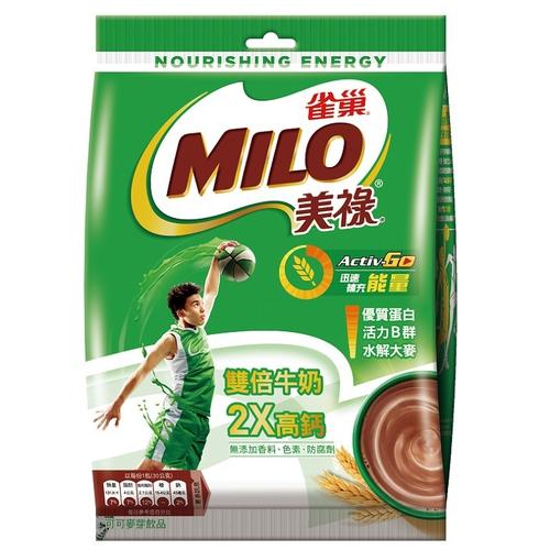 雀巢 美祿三合一雙倍牛奶(30gx16包/袋)