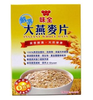 味全 嚴選大燕麥片(750g*2包/盒)