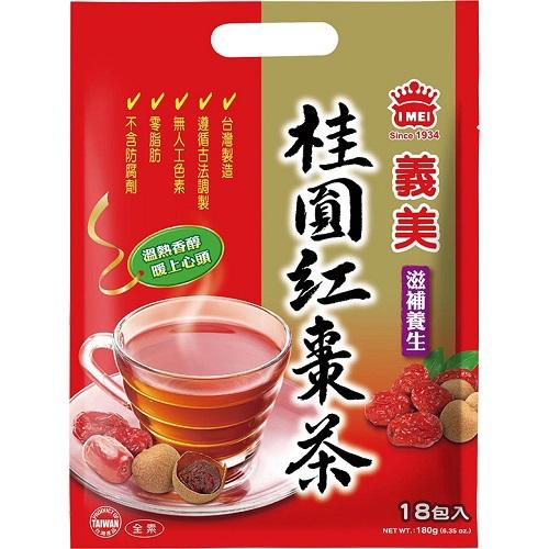義美 桂圓紅棗茶(10g*18包/袋)