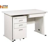 《時尚屋》120cm 灰色THA辦公桌櫃組