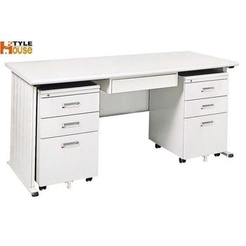 《時尚屋》150cm 灰色THA辦公桌櫃組