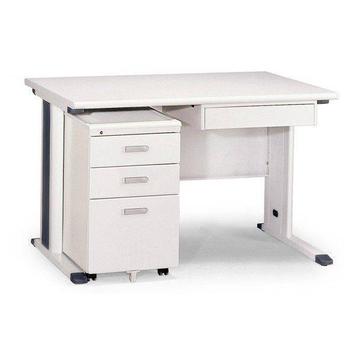 《SWEET》120cm灰色KH辦公桌櫃組