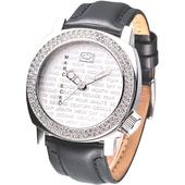 《MARC ECKO》優質型男時尚晶鑽腕錶E95012G1