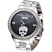 《MARC ECKO》龐克達人大錶徑時尚晶鑽腕錶E15070G1