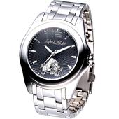 《MARC ECKO》名流精英時尚鋼帶腕錶E08504G1