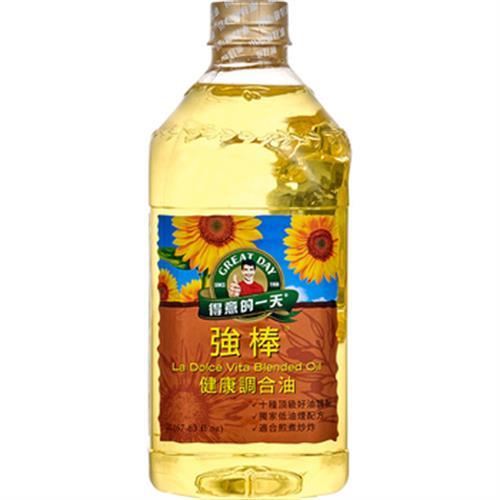 得意的一天 強棒健康調和油(2L/瓶)