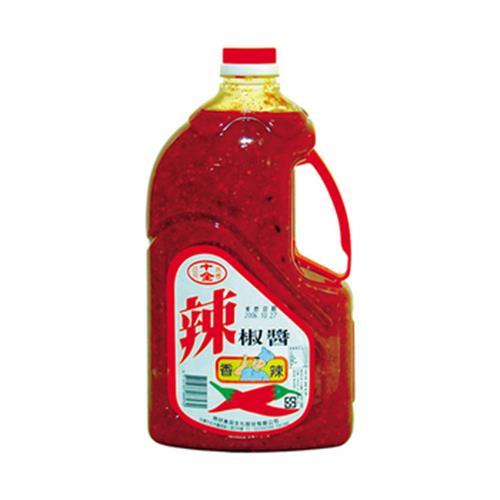 十全 辣椒醬(2700g/桶)