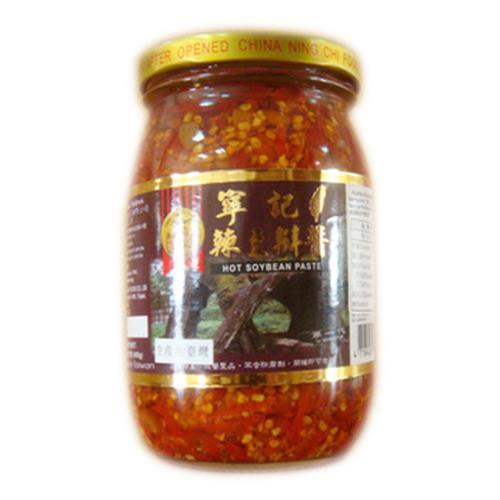 寧記 辣豆瓣醬(450g/罐)