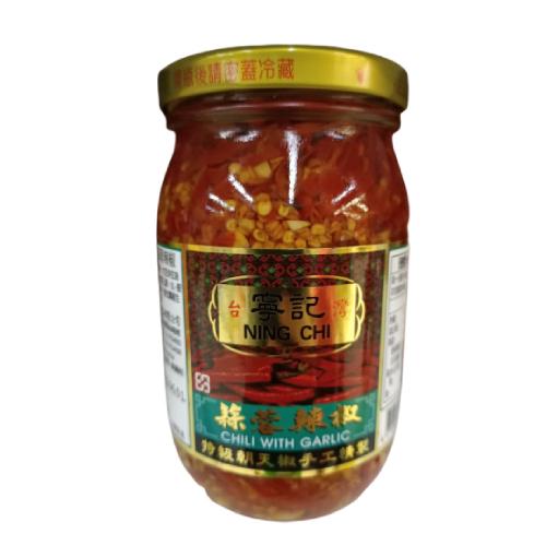 寧記 蒜蓉辣椒(450g/罐)
