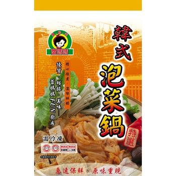 蕾媽媽 韓式泡菜鍋(1000g/包)