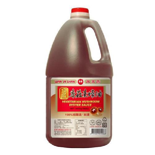 《萬家香》頂級香菇素蠔油(4400g/桶)