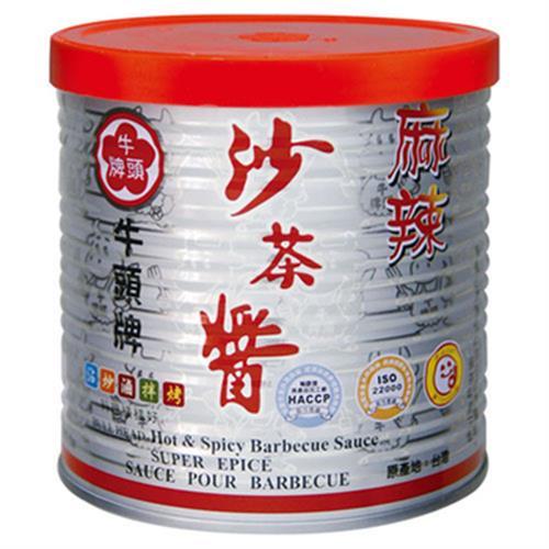 牛頭牌 麻辣沙茶醬(600g/罐)