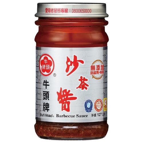 《牛頭牌》玻璃沙茶醬(127g/瓶)