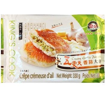 金品 五更天香蒜大餅(110公克(3片)/盒)