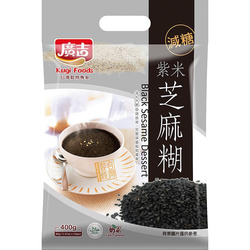 廣吉 紅麴紫米芝麻糊(40gx10包/袋)