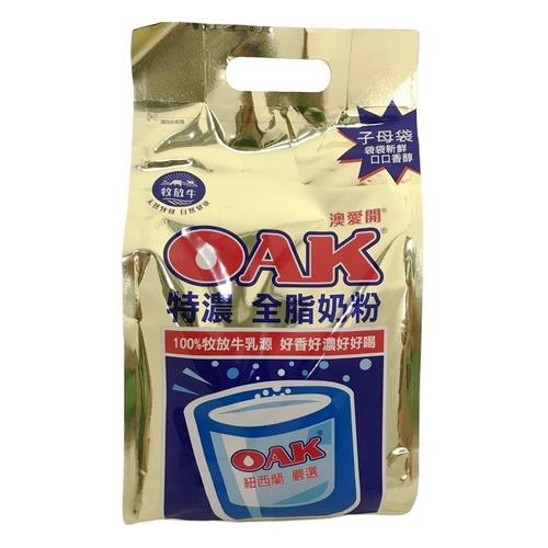 《OAK》特濃全脂奶粉(1400g/袋)