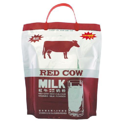 Red Cow 紅牛 脫脂高鈣奶粉(2kg/袋)