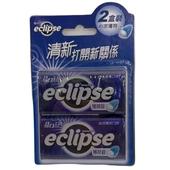 《Eclipse 易口舒》無糖薄荷錠-沁涼薄荷(31g*2盒/組)